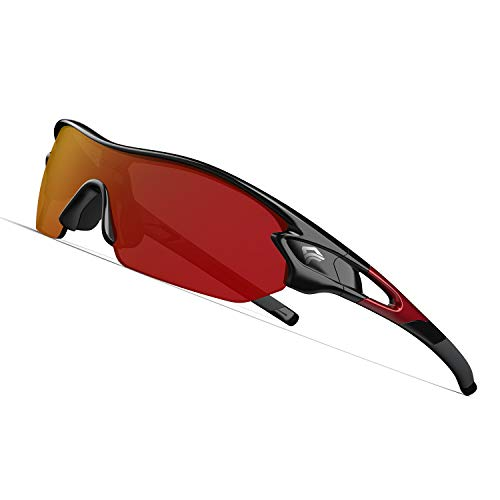 Torege Polarized Sports Sunglasses With...