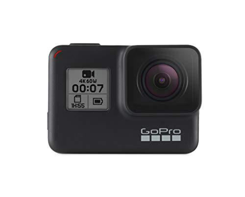 8. GoPro HERO7 Black — 4K Waterproof Action Camera with Touch Screen