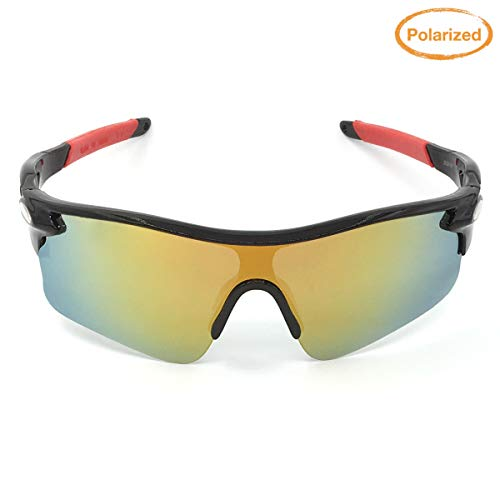 8. J+S Active PLUS Cycling Outdoor Sports Athlete's Sunglasses