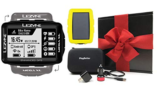 8. Lezyne Mega XL Bike GPS Bundle
