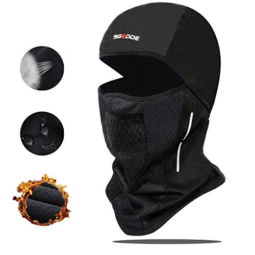 1. SGODDE Balaclava Cycling Sports Face Mask