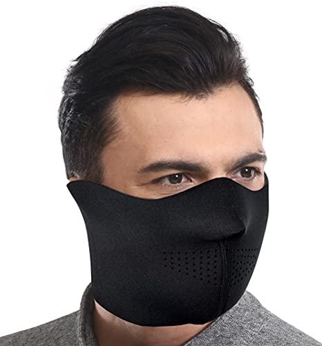9. Half Face Ski Mask for Cold Weather