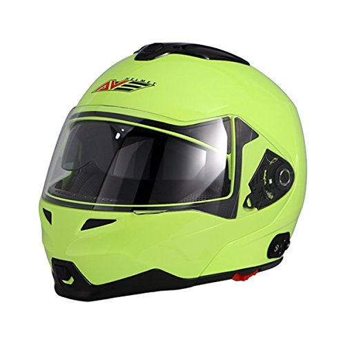 8. AVE A-20 Atom Modular Flip-Up Motorcycle Helmet