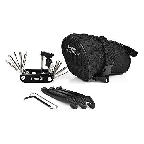 WOTOW Bike Repair Tool Kits Saddle Bag...