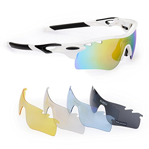 9. FiveBox Polarized U.V Protection Sports Glasses