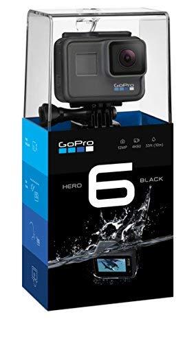1. GoPro HERO6 Black 4K Action Camera