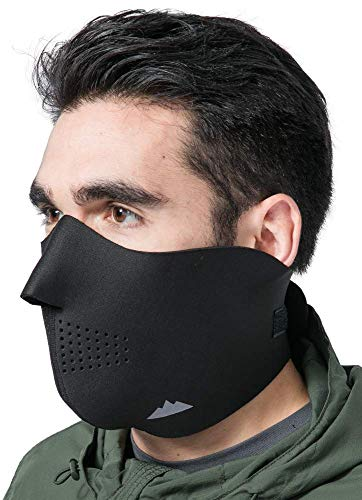 9. Half Face Ski Mask for Cold Weather