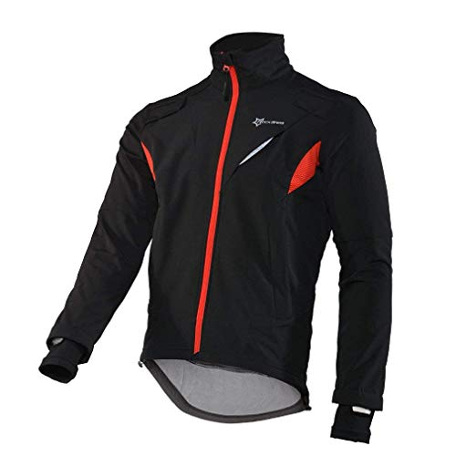 3. RockBros Winter Cycling Fleece Thermal Windproof Jacket