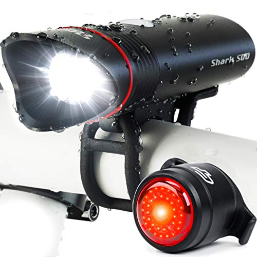 Bike Light USB Rechargeable, Cycle Torch...