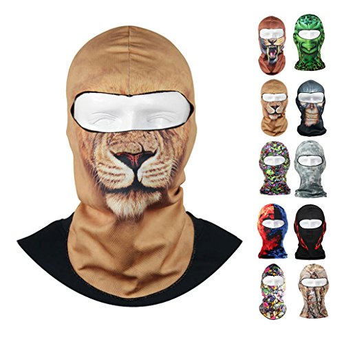 5. Voberry Thin 3D Outdoor Cycling Ski Mask