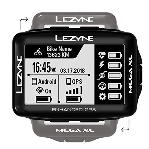 6. LEZYNE Mega XL GPS Bicycle Computer