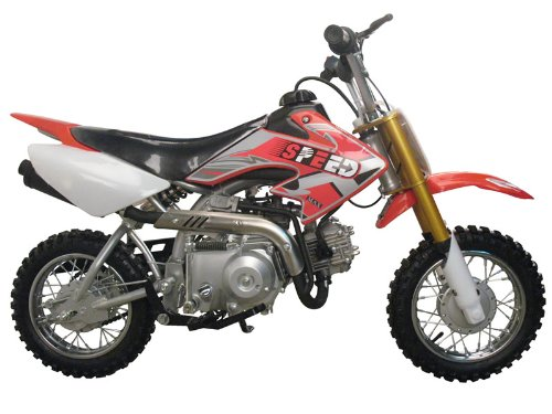 1. Coolster Dirt bike 70cc Semi-Automatic