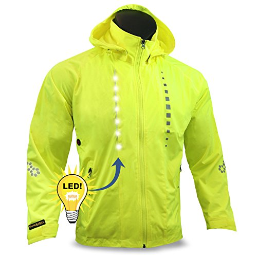 6. KwikSafety Firefly Racing LED Cycling Jacket