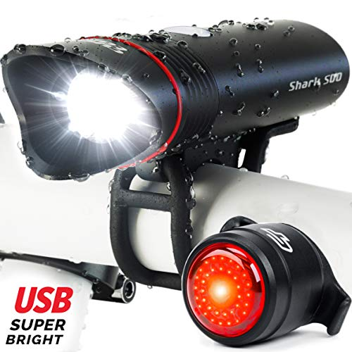 Cycle Torch Shark 500 USB Rechargeable...