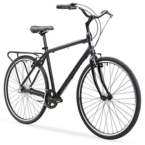13. sixthreezero Explore Your Range Men's Hybrid Commuter Bicycle