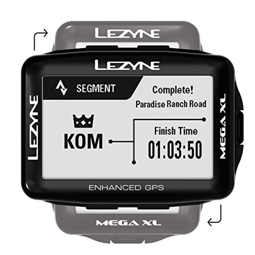 6. LEZYNE Mega XL GPS Bicycle Computer