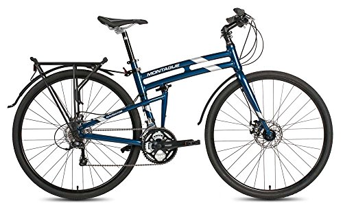 3. Montague Navigator Folding 700c Pavement Hybrid Bike