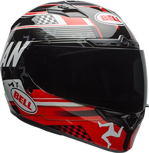 6. Bell Clutch Adult Qualifier DLX Street Bike Motorcycle Helmet