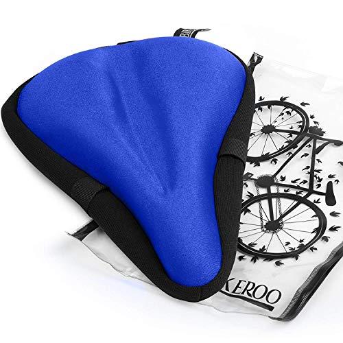 8. Bikeroo Comfortable Bike Seat Cushion Cover