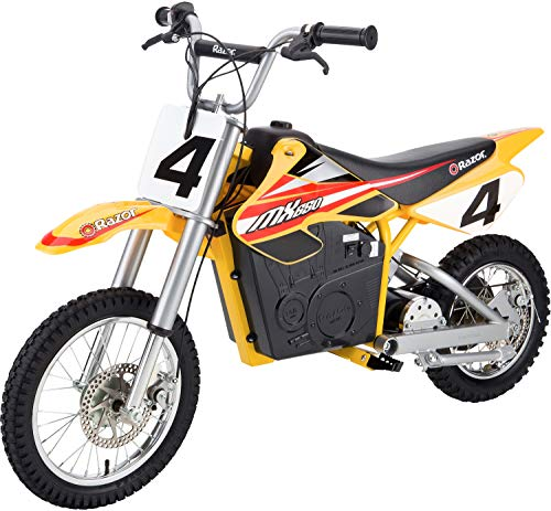 8. Razor MX650 Rocket Electric Motocross Bike