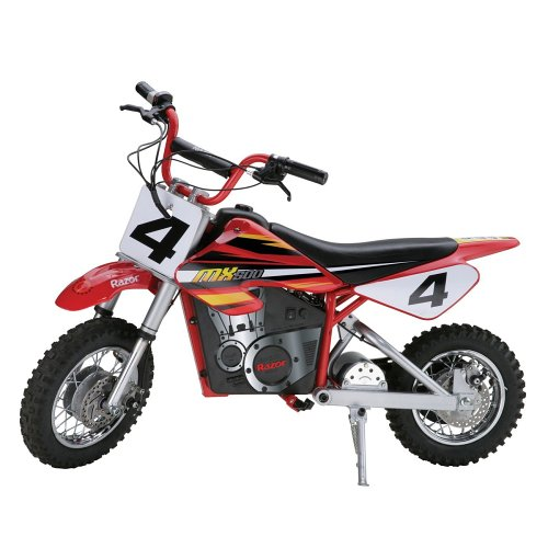 7. Razor MX500 Dirt Rocket Electric Motocross Bike