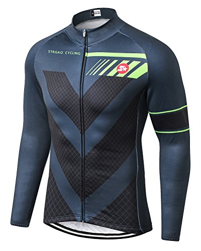 7. MR Strgao Men's Cycling Winter Thermal Jacket