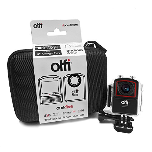 6. Olfi OneFive 4K Action Sports Camera