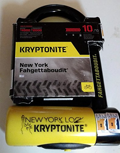 Kryptonite New York Fahgettaboudit Mini...